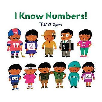 ¡Conozco los números! por Taro Gomi - libro 9781452159188