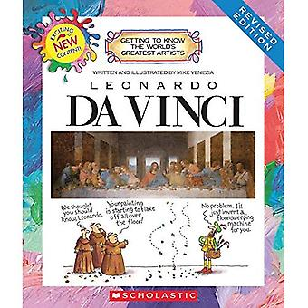 Leonardo DaVinci (seconda edizione) (familiarizz conare più grandi artisti del mondo)