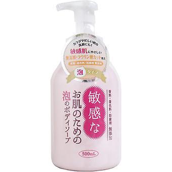 Clover Foaming Body Soap for Sensitive Skin 500ml
