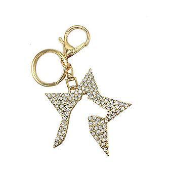 Hy Zeddy Diamante Key Ring