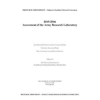 2015-2016 oceny Army Research Laboratory