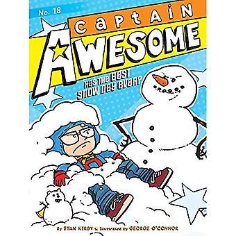 Captain Awesome har den bästa snö dagen någonsin? (Captain Awesome)