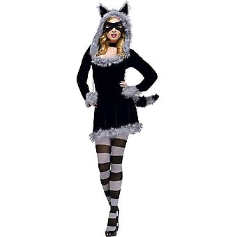 Grey Racoon Adult Costume