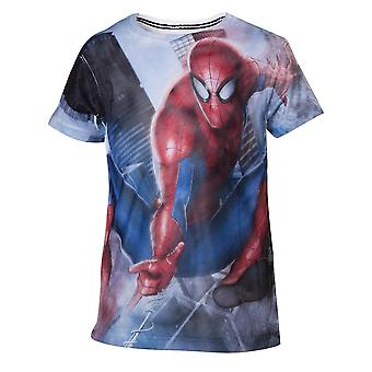 Marvel kinderen shirt, Spiderman Web shooter