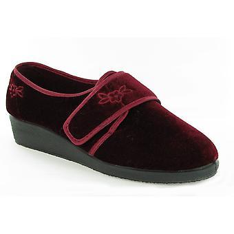 Mirak Julia Touch Fastening Slipper / Ladies Slippers / Ladies Slippers