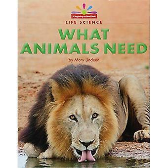 Ce que les animaux ont besoin (début à lire, lire et découvrir - Science)