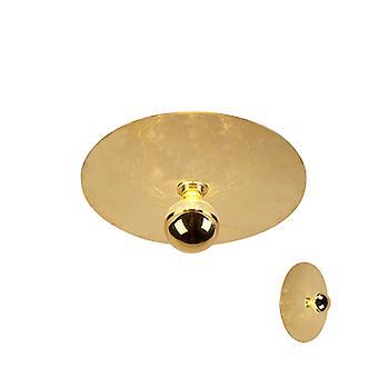 QA-QA moderno lampada a soffitto oro 40cm - Discco