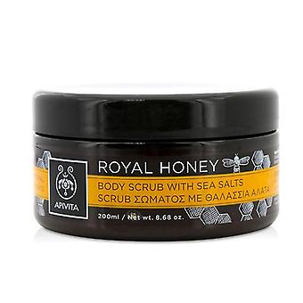 Apivita Royal Honey Body Scrub With Sea Salts - 200ml/8.68oz