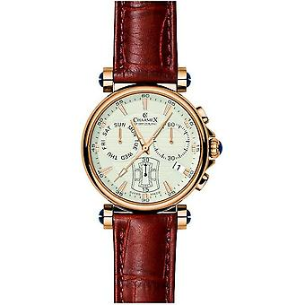 Charmex mens Bracelet Watch fith Avenue chronograph 2575
