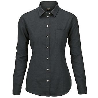 Nimbus Womens Calverton Luxury Long Sleeve Flannel Shirt