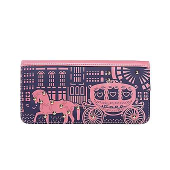 Intrigue Womens/Ladies Horse And Carriage Print Purse