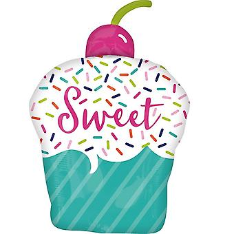 Anagram Sweet Cupcake Supershape Folyo Balon