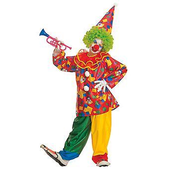 Clown drôle (manteau avec col pantalon chapeau) pour enfants