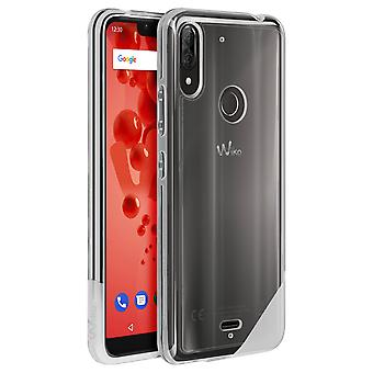Wiko View 2 Plus Shockproof Silicone Case Transparent