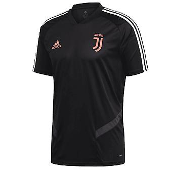 2019-2020 Juventus Adidas training shirt (zwart)-Kids