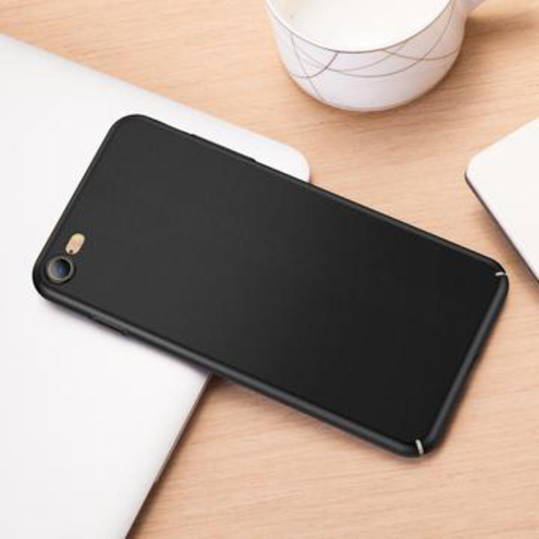 Hard matte black case - iPhone 8