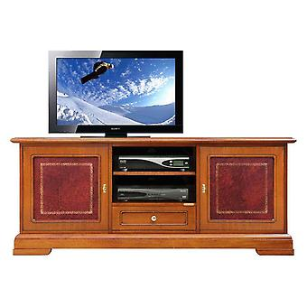 Porte TV mobile avec cuir