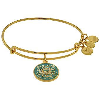 Alex and Ani U.S. Coast Guard Charm Bangle - AS16USCGYG