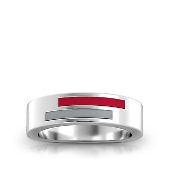 The Ohio State University Ring In Sterling Silver Design by BIXLER