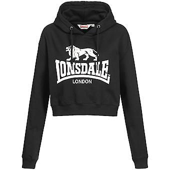 Lonsdale Women ' s Hooded tröja beskurna Roxeth