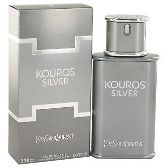 Kouros zilver Eau de toilette spray door Yves Saint Laurent 518486 100 ml