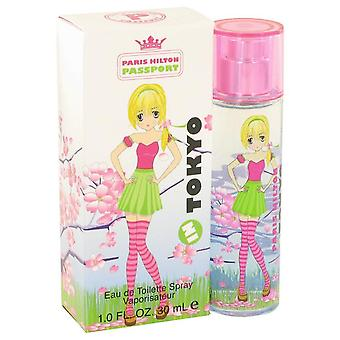 Paris hilton passport in tokyo eau de toilette spray by paris hilton 501142 30 ml