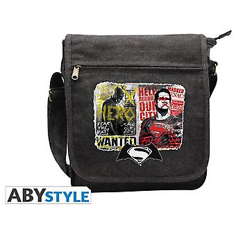 Abysse Dc Comics Messenger Bag Batmanv Sup. Graffiti Small Size Hook