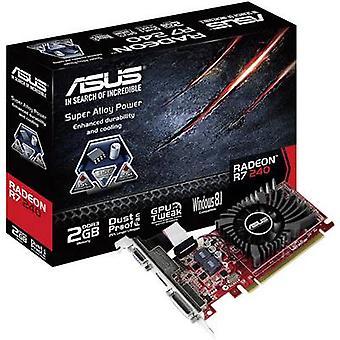 Asus GPU AMD Radeon R7 240 2 GB DDR3 RAM PCIe x16 DVI, VGA, HDMI™