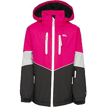 Trespass Girls Olivvia Padded Hooded Adjustable Ski Coat