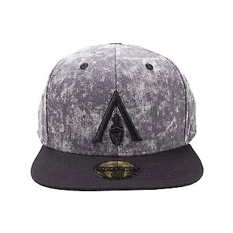 Assassins Creed Odyssey Baseball Cap Apocalyptic Logo Official Grey Snapback
