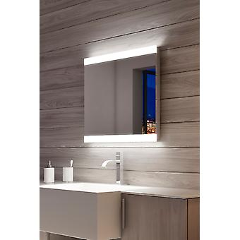Dolphin Double Edge LED Bathroom Mirror with Sensor & Shaver k1113h