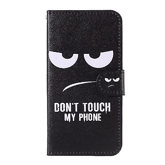 iPhone 11 Plånboksfodral - Don't Touch My Phone