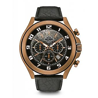 Harley Davidson 78B148 Men's Chronograph Wristwatch