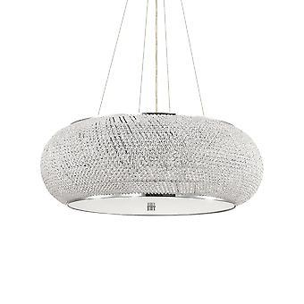 Ideal Lux Pasha' 14 Licht Anhänger Licht Chrom IDL164977
