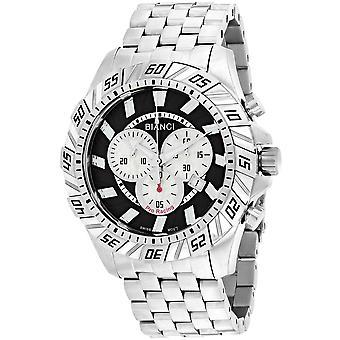 Roberto Bianci Men's Valentino Black Dial Uhr - RB70601