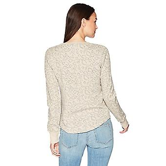 Lucky Brand Women-apos;s Cheetah Print Pullover, NAUTRAL Multi, S