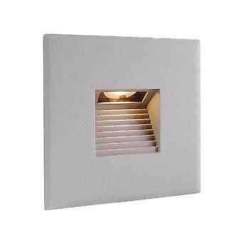 Cover silver-grey square for Light Base COB Indoor