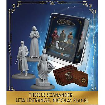 Theseus Scamander Leta LeStrange Nicolas Flamel Harry Potter Miniature Adventure