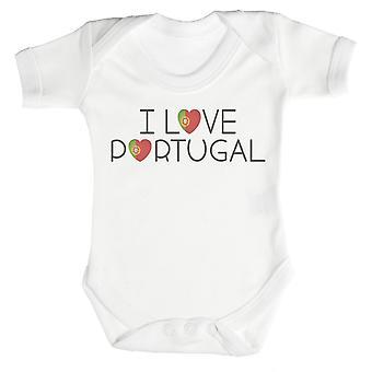 I Love Portugal Baby Bodysuit / Babygrow