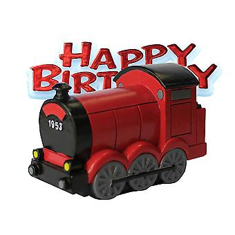 Creative Party Trains & Happy Birthday Cake Topper