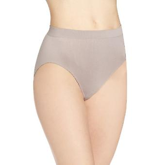 Bali Women's Comfort Revolution Seamless Hi Cut,, Warm Steel Swirl, Size 7.0