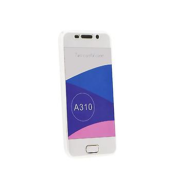 Galaxy A3 Hull (2016) Flexible 360 Transparent Protection - Crazy Kase