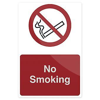 Niet roken teken-200x300mm stijf