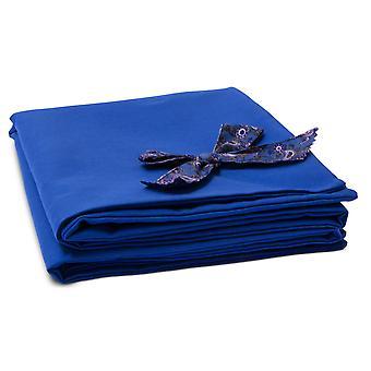 اوه! الدنيم الأزرق الكلب بطانية