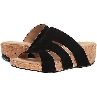 ADRIENNE VITTADINI Ayakkabı Kadın's Daytona Kama Sandalet, Siyah-sd, 9.5 Mediu...