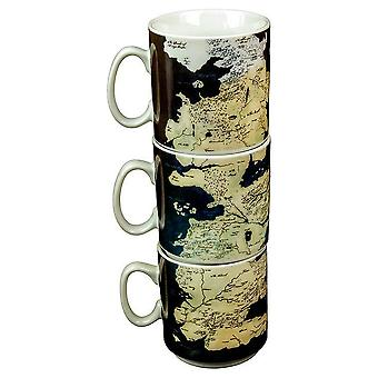 Westeros Stacking Mug Set from Game Of Thrones