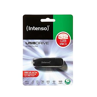 USB-stick INTENSO 3533480 USB 3,0 32 GB zwart