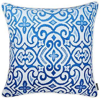 """18 """"x 18"""" sininen taivas vieritys koriste heittää tyynyn päällinen painettu"""