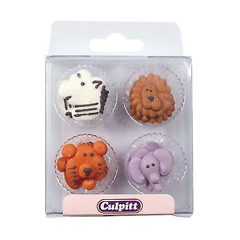 Culpitt Animals Faces Sugar Pipings