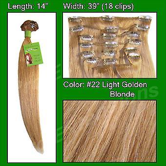 #22 Medium kultainen vaalea-14 tuumaa